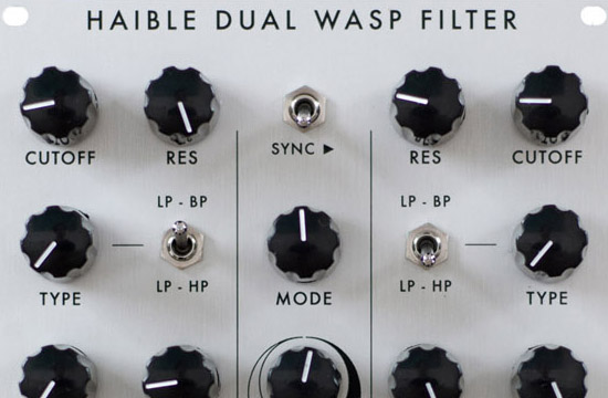 Jürgen Haible Dual WASP VCF for eurorack