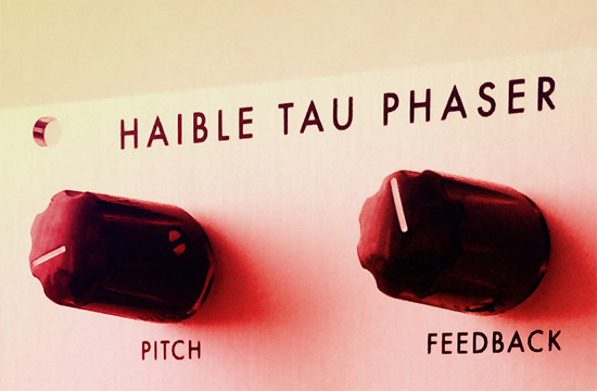 Jürgen Haible Tau Pipe Phaser for eurorack